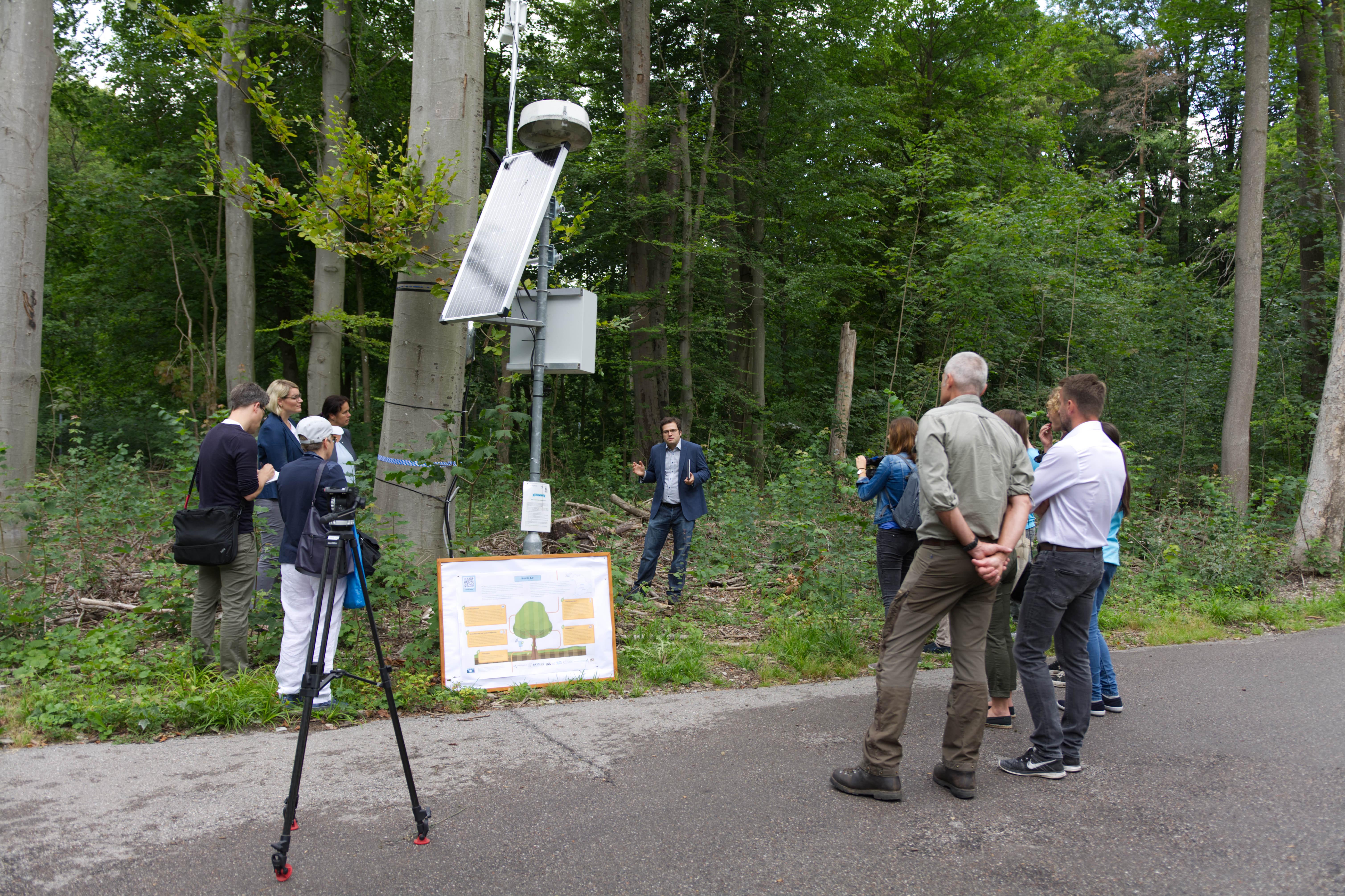 Eröffnung des Baum 4.0 in Augsburg