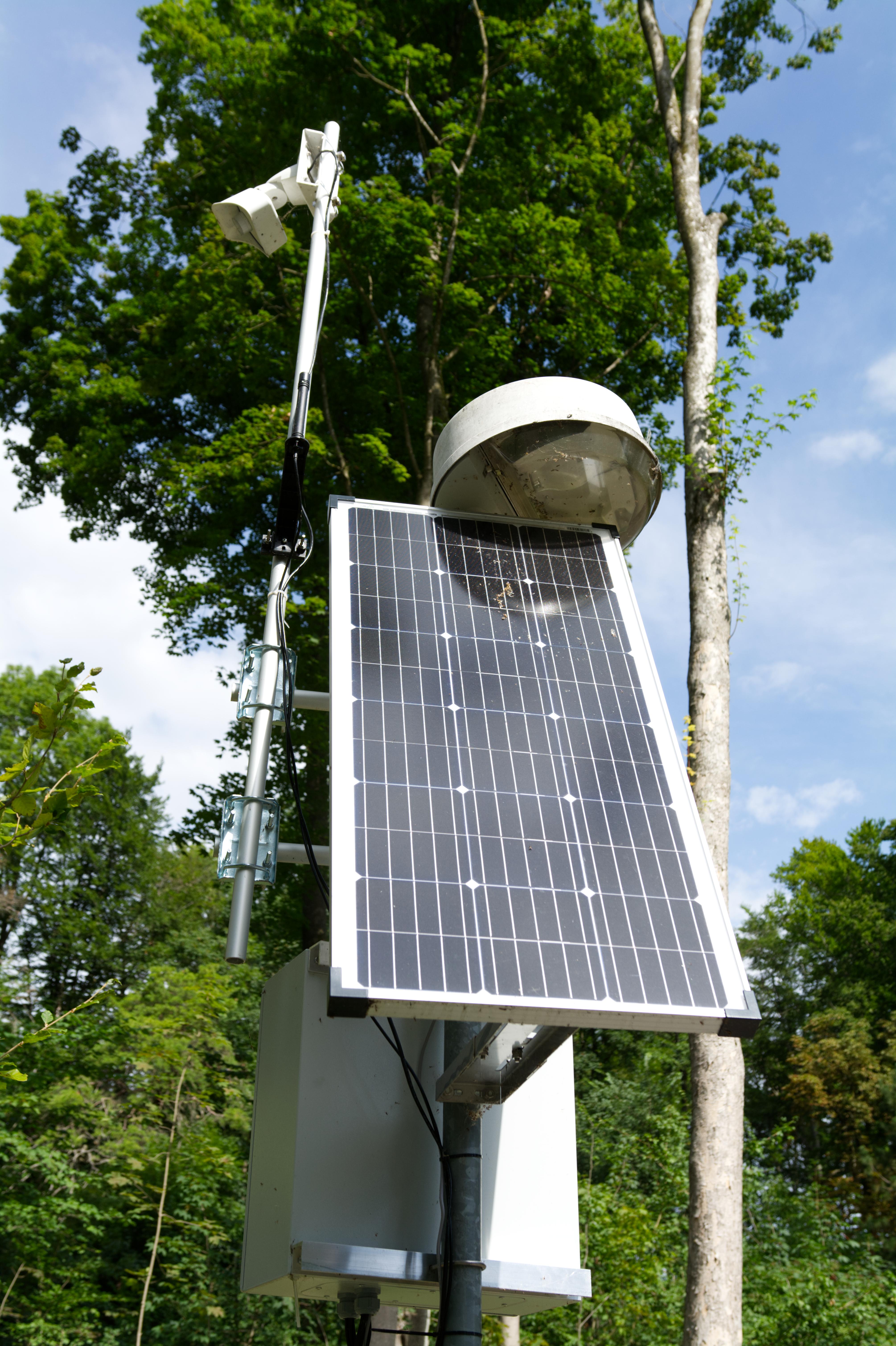 Solarpanel beim Baum 4.0 in Augsburg