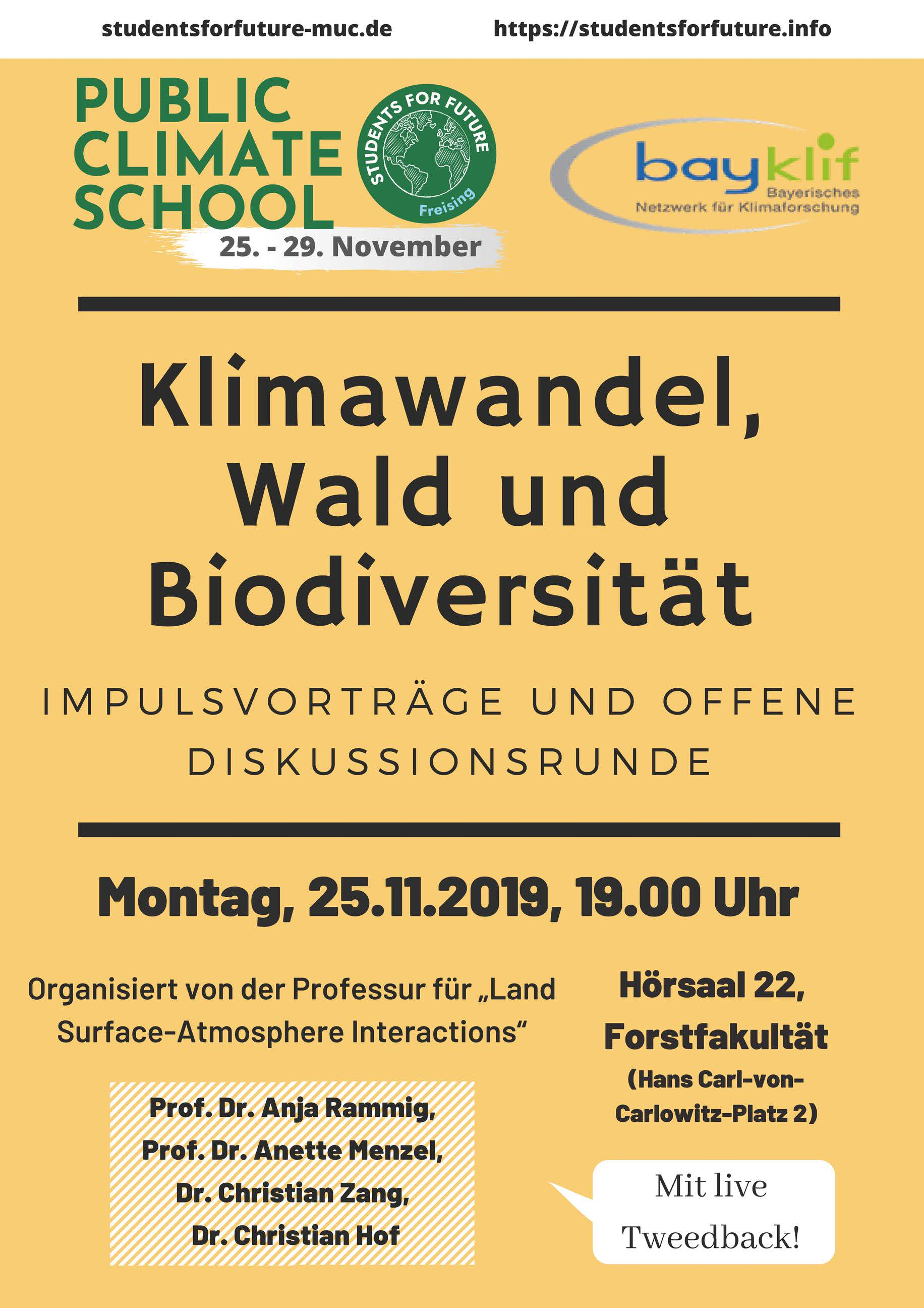 Public Climate School Poster