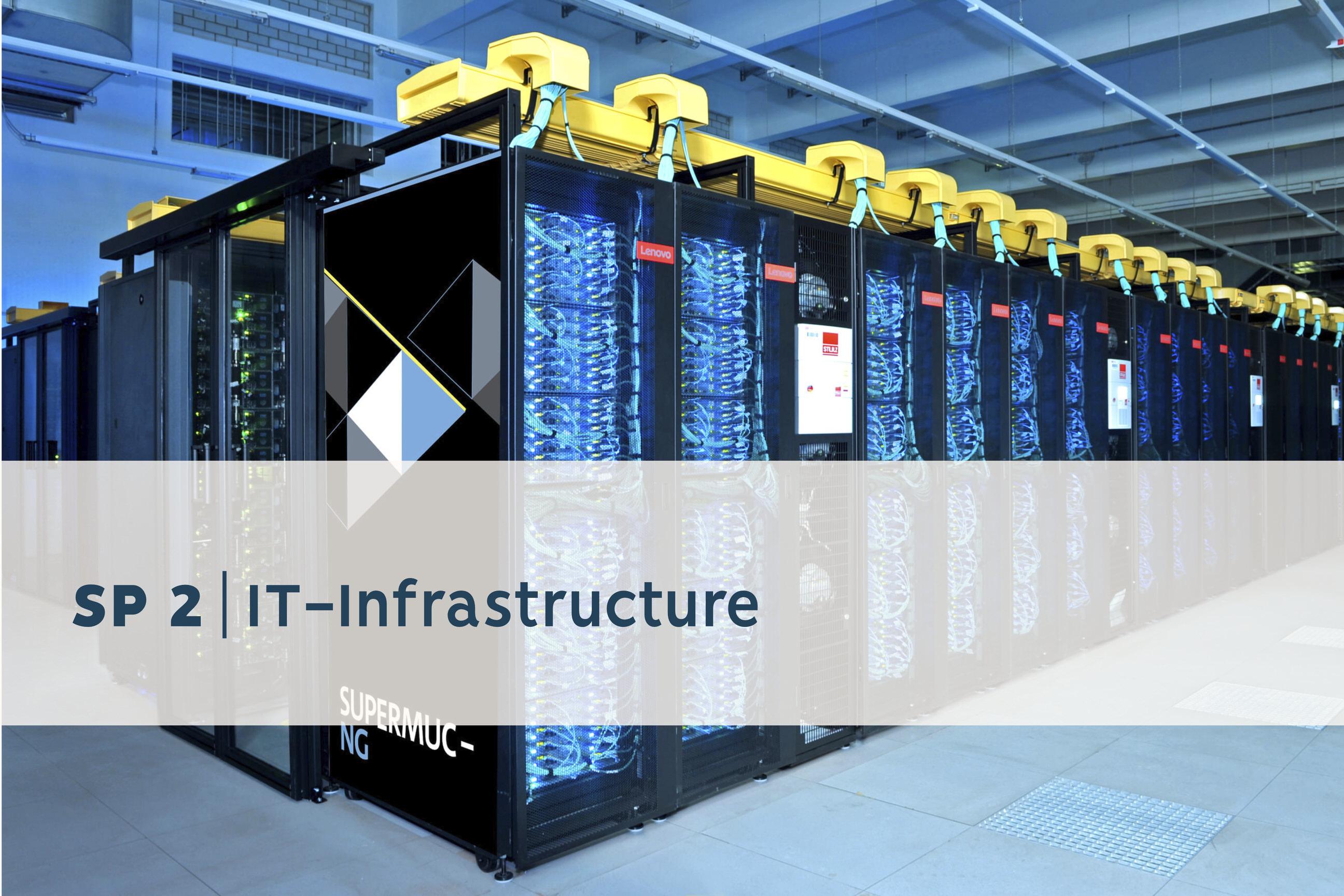Riesenrechner als Sinnbild für IT-Infrastruktur