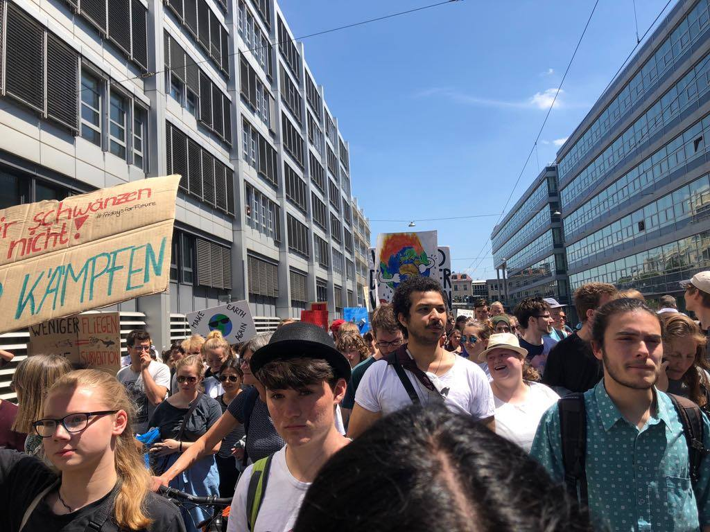 Fridays for Future Demo in München
